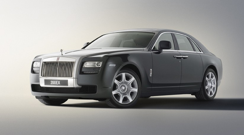rolls royce 200ex concept baby phantom plan te. Black Bedroom Furniture Sets. Home Design Ideas