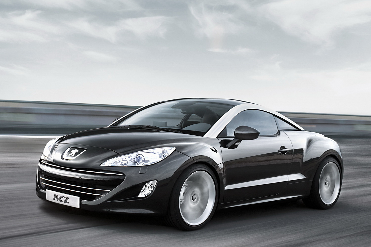 peugeot rcz le lion sort les griffes plan te. Black Bedroom Furniture Sets. Home Design Ideas