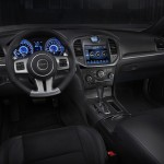 Interior of the 2012 Chrysler 300 SRT8