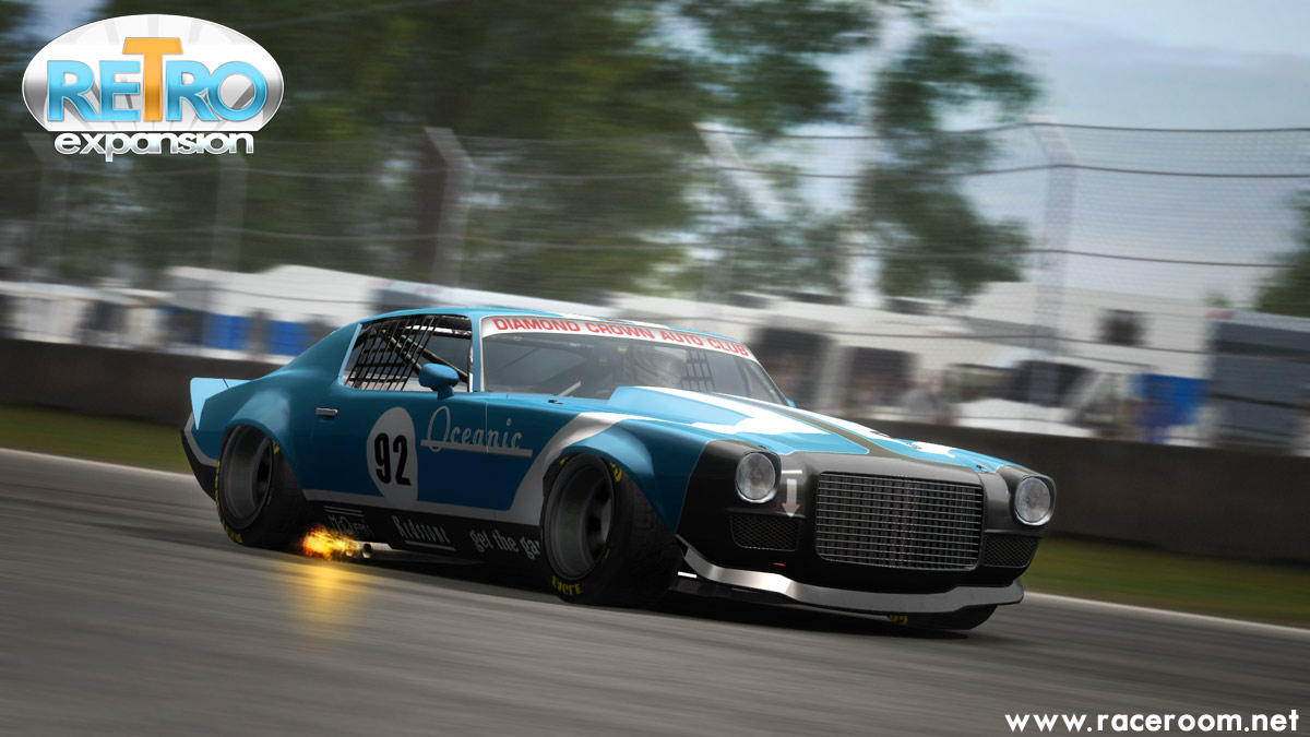 Le Retro Pack sera disponible le 28 avril sur le site Raceroom.net au