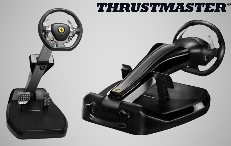 thrustmaster pr sente le ferrari vibration gt cockpit 458 italia edition plan te. Black Bedroom Furniture Sets. Home Design Ideas