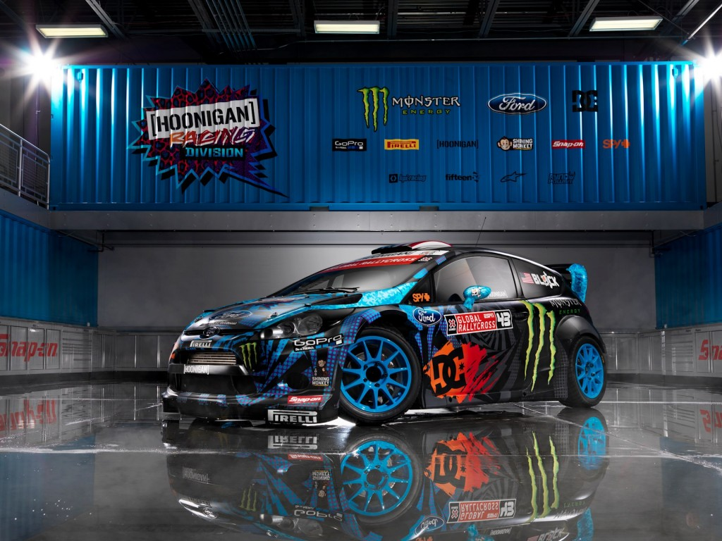 nouvelle livr e pour la fiesta de ken block plan te. Black Bedroom Furniture Sets. Home Design Ideas