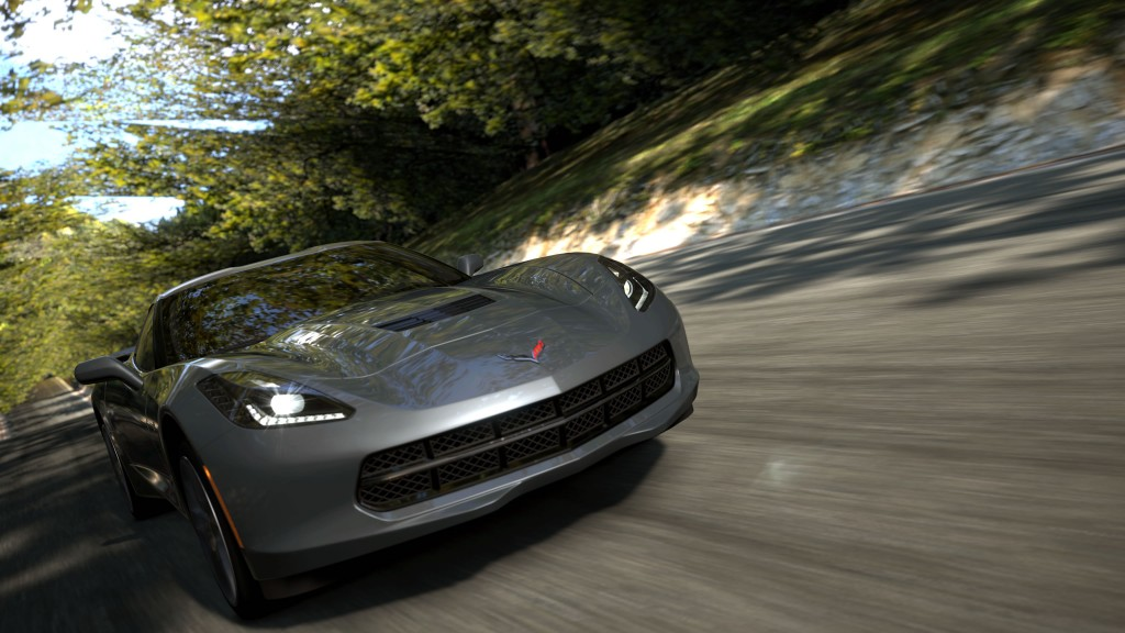 Gran Turismo 5 : Gameplay en Corvette Stingray 2014