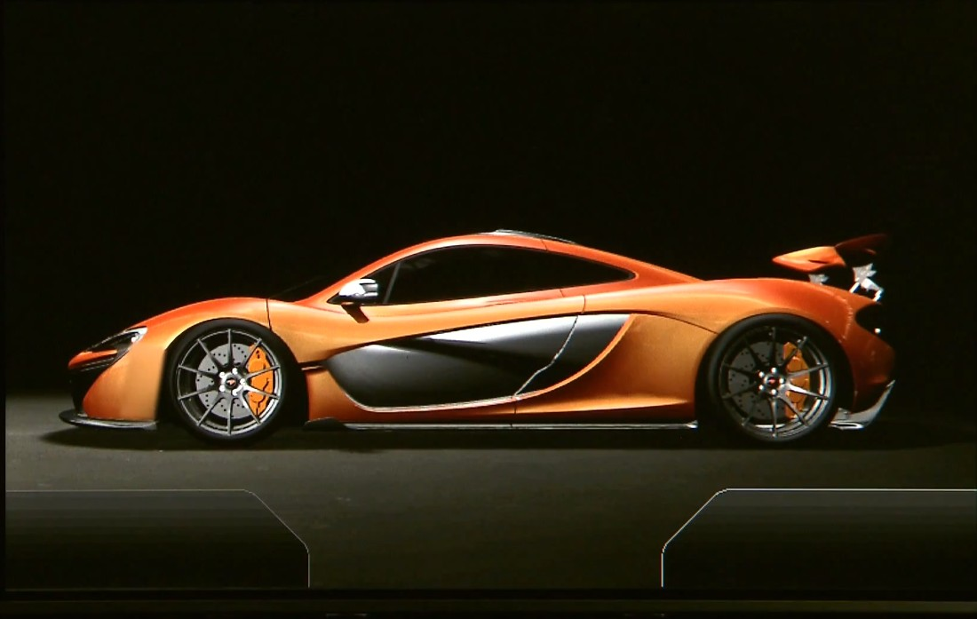 video mclaren p1 compteur digital plan te. Black Bedroom Furniture Sets. Home Design Ideas