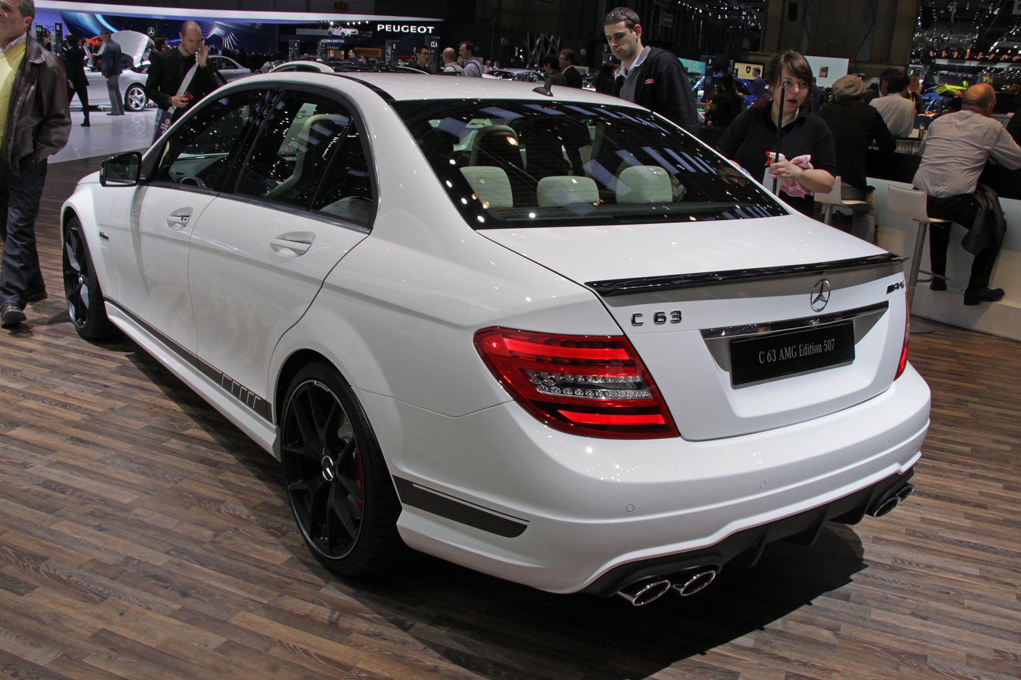 2015 mercedes benz c63 amg 507 edition autos post. Black Bedroom Furniture Sets. Home Design Ideas