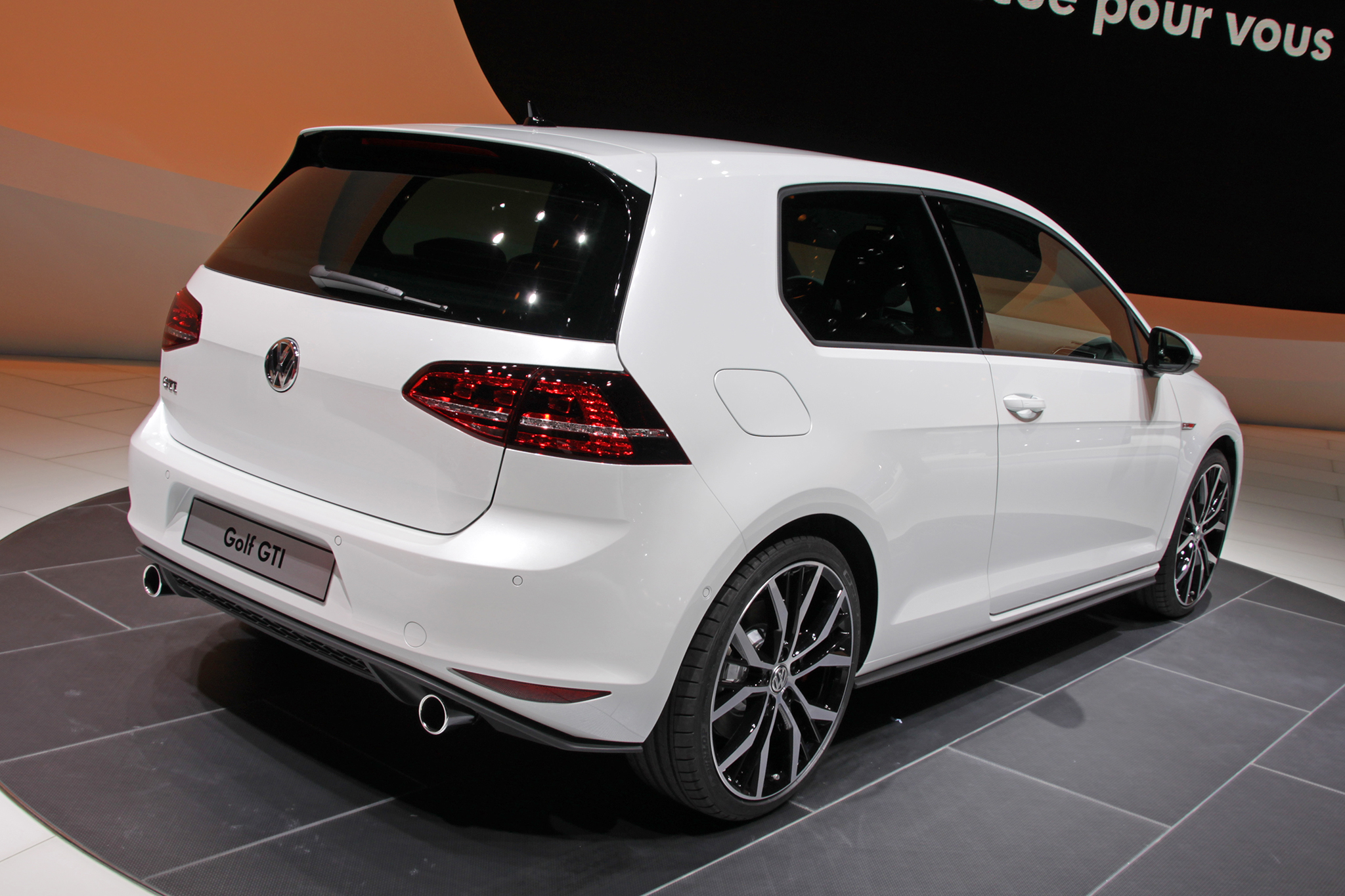 vw golf 7 gti 2 plan te. Black Bedroom Furniture Sets. Home Design Ideas