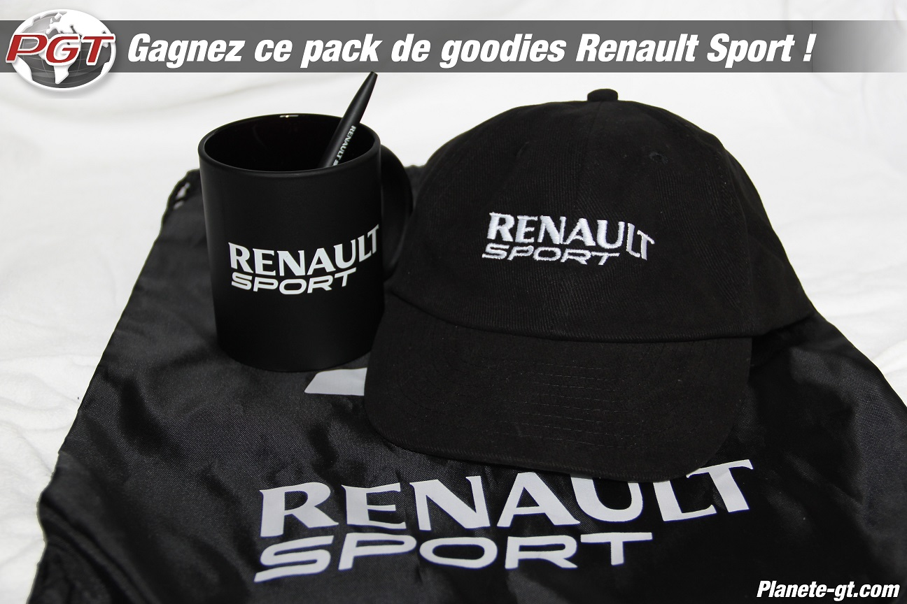 concours gagner goodies renault sport 3 plan te. Black Bedroom Furniture Sets. Home Design Ideas