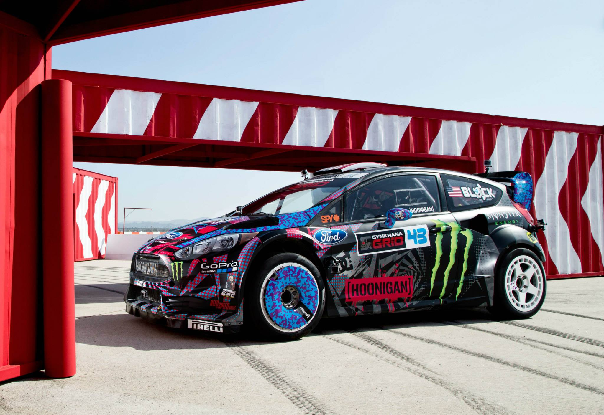 photos de la ford fiesta st rx43 de ken block plan te. Black Bedroom Furniture Sets. Home Design Ideas