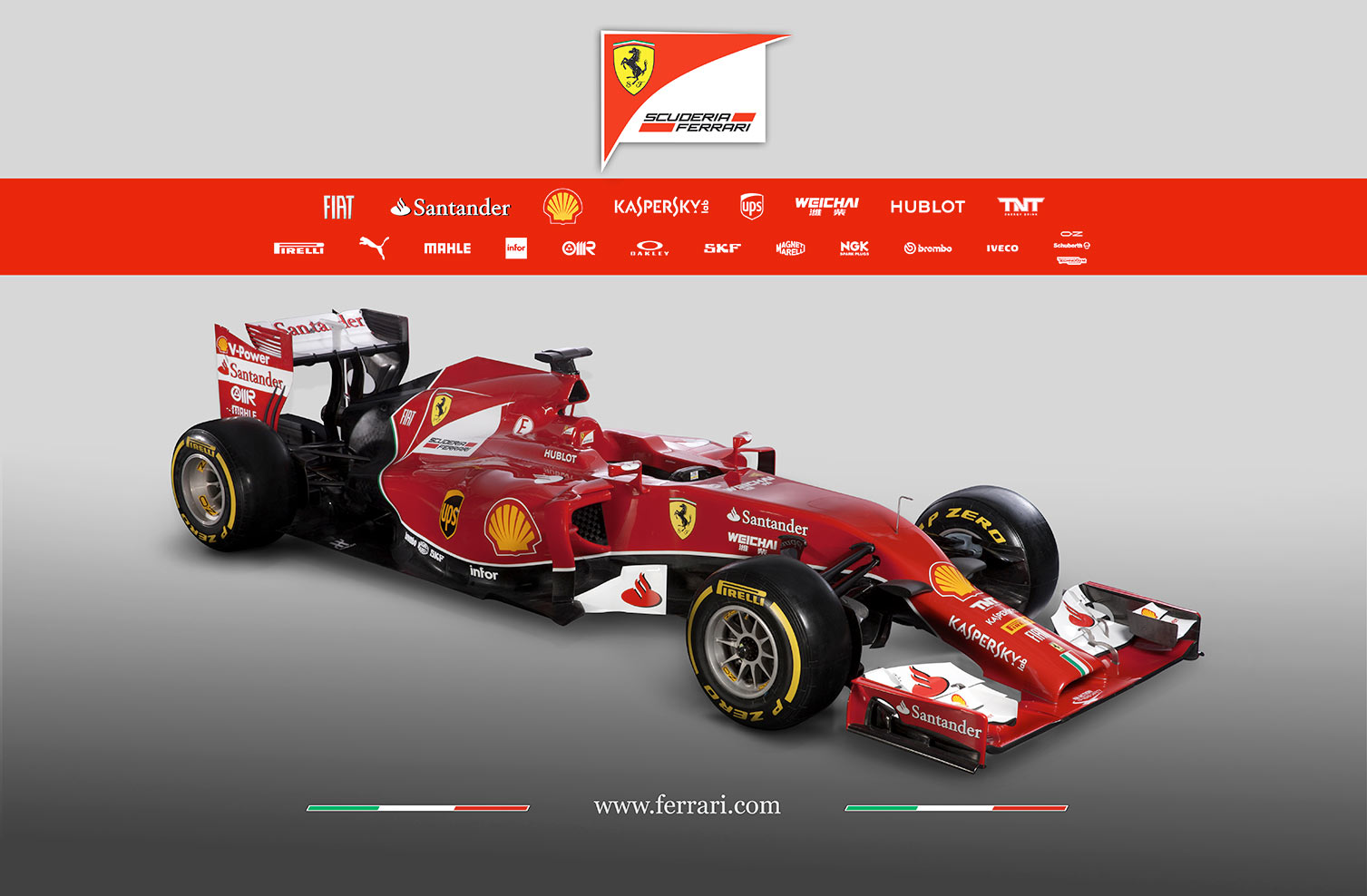 la scuderia ferrari pr sente la formule 1 f14t plan te. Black Bedroom Furniture Sets. Home Design Ideas