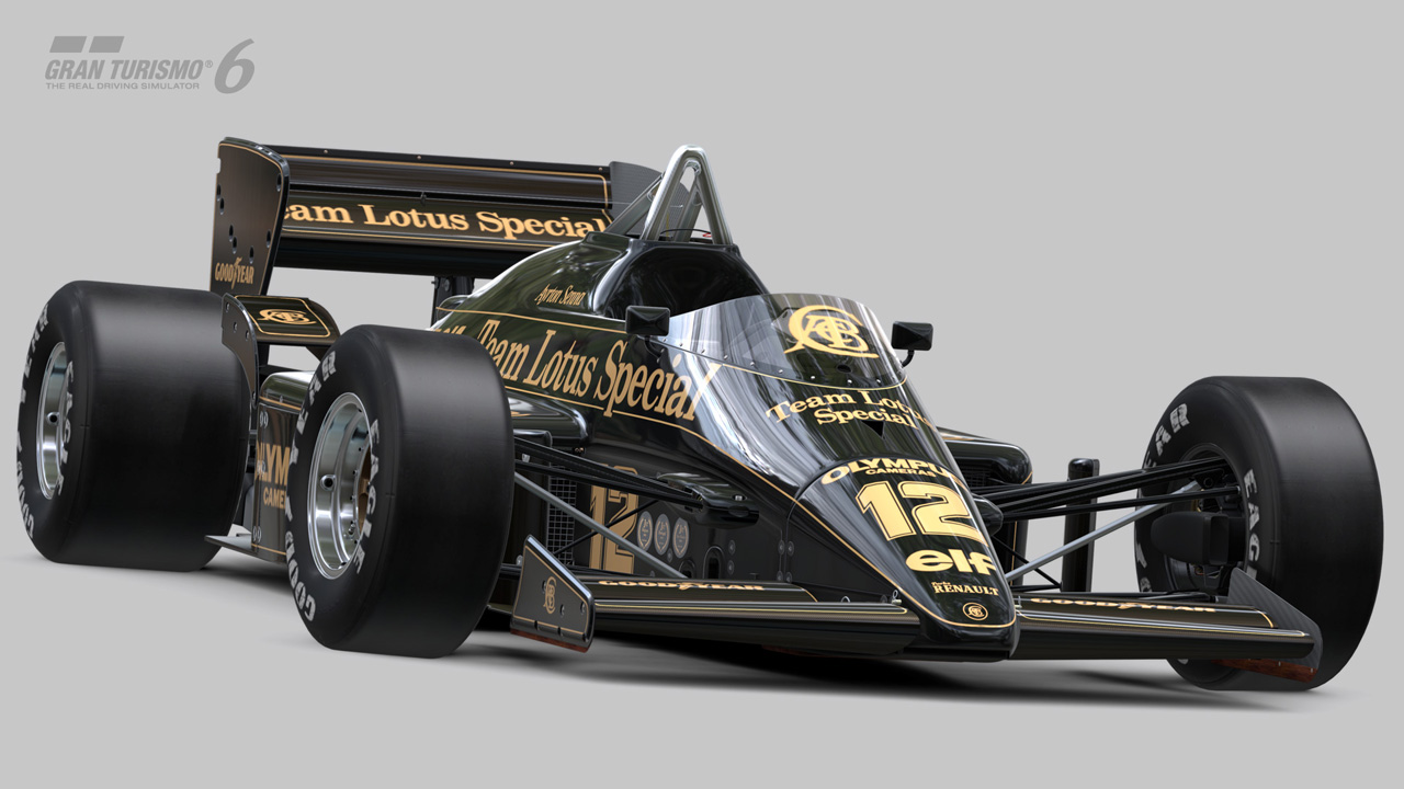 gran turismo 6 hommage senna avec une lotus 97t en dlc plan te. Black Bedroom Furniture Sets. Home Design Ideas