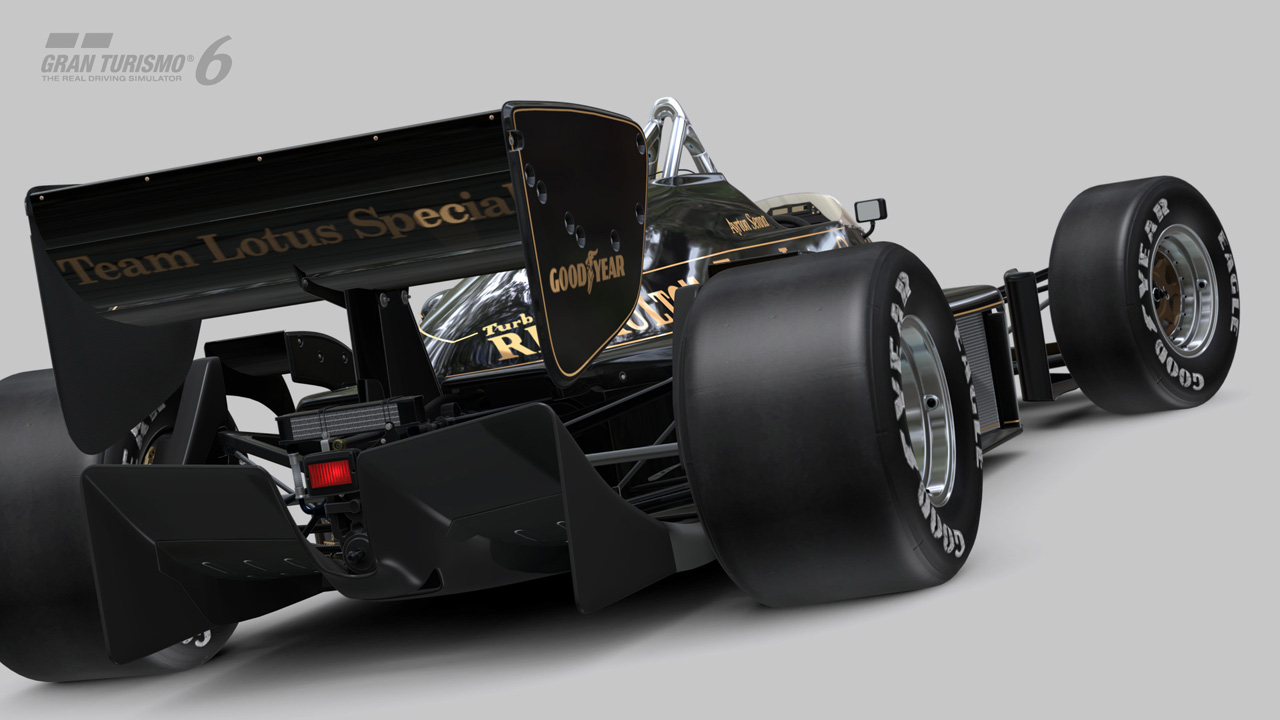 gran turismo 6 hommage senna avec une lotus 97t en dlc. Black Bedroom Furniture Sets. Home Design Ideas