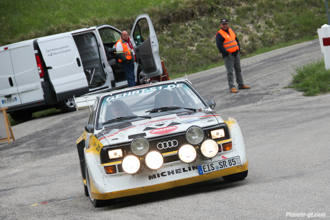 sur les traces de l audi s1 quattro au rallye du dauphin plan te. Black Bedroom Furniture Sets. Home Design Ideas