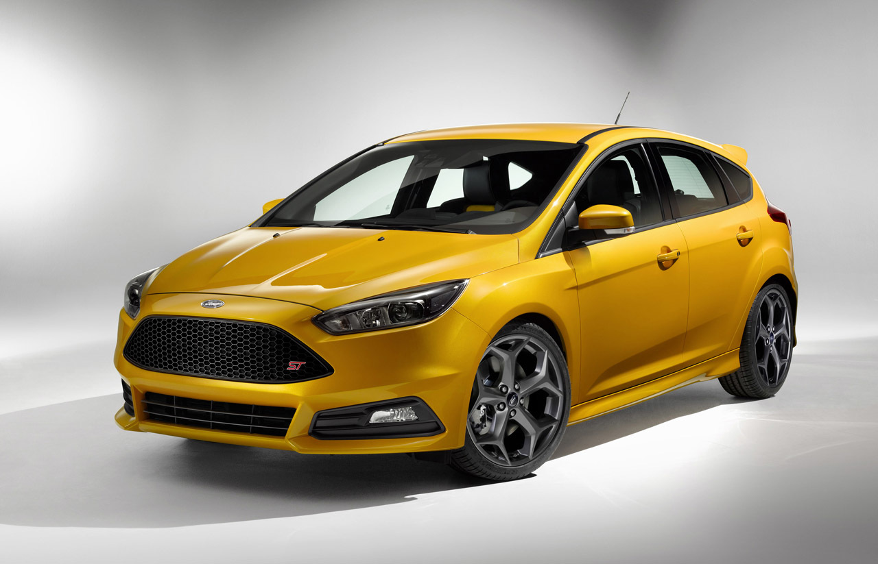nouvelle ford focus st un diesel et un facelift en. Black Bedroom Furniture Sets. Home Design Ideas