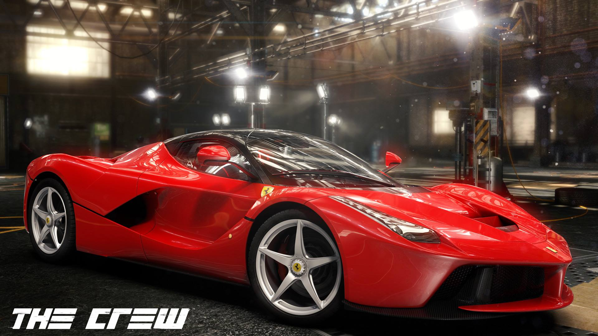 e3 2014 laferrari sera dans the crew plan te. Black Bedroom Furniture Sets. Home Design Ideas