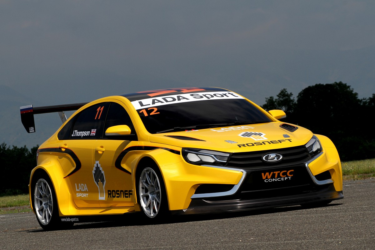 lada vesta wtcc concept retour en force plan te. Black Bedroom Furniture Sets. Home Design Ideas