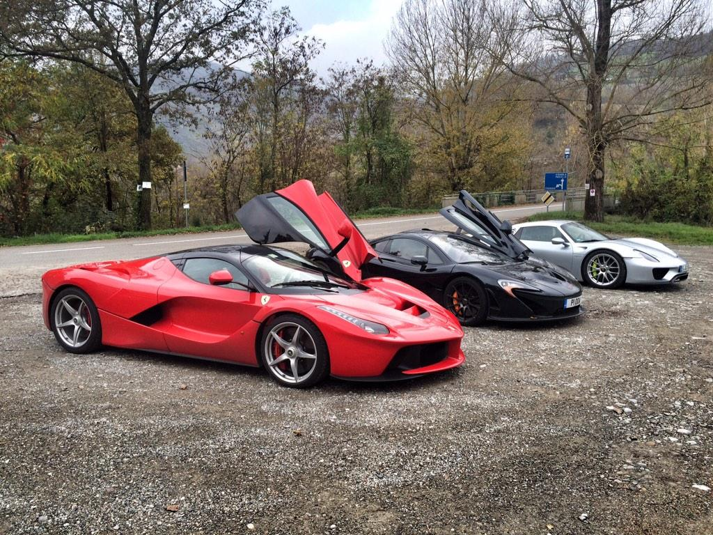 laferrari p1 et 918 spyder top gear magazine a r uni. Black Bedroom Furniture Sets. Home Design Ideas
