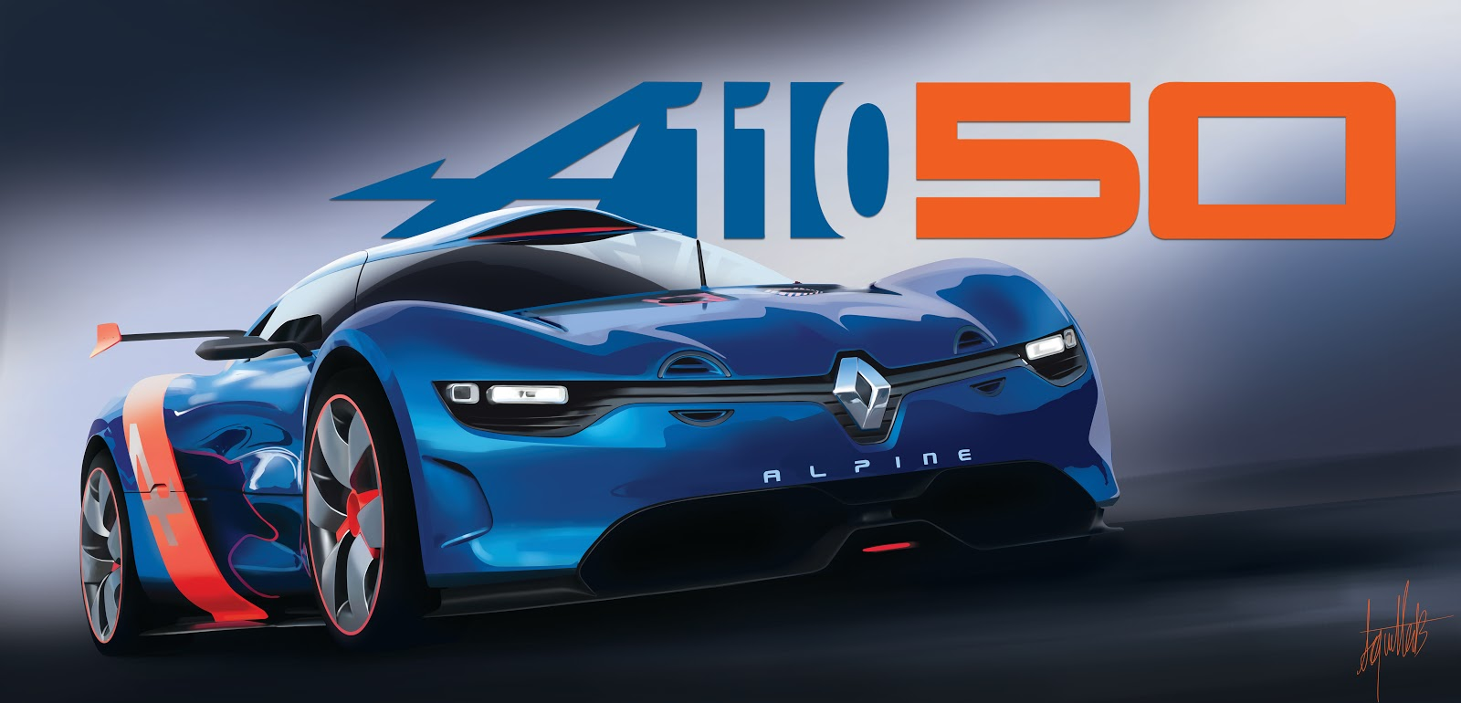 la renault alpine a110 50 arrive dans driveclub. Black Bedroom Furniture Sets. Home Design Ideas