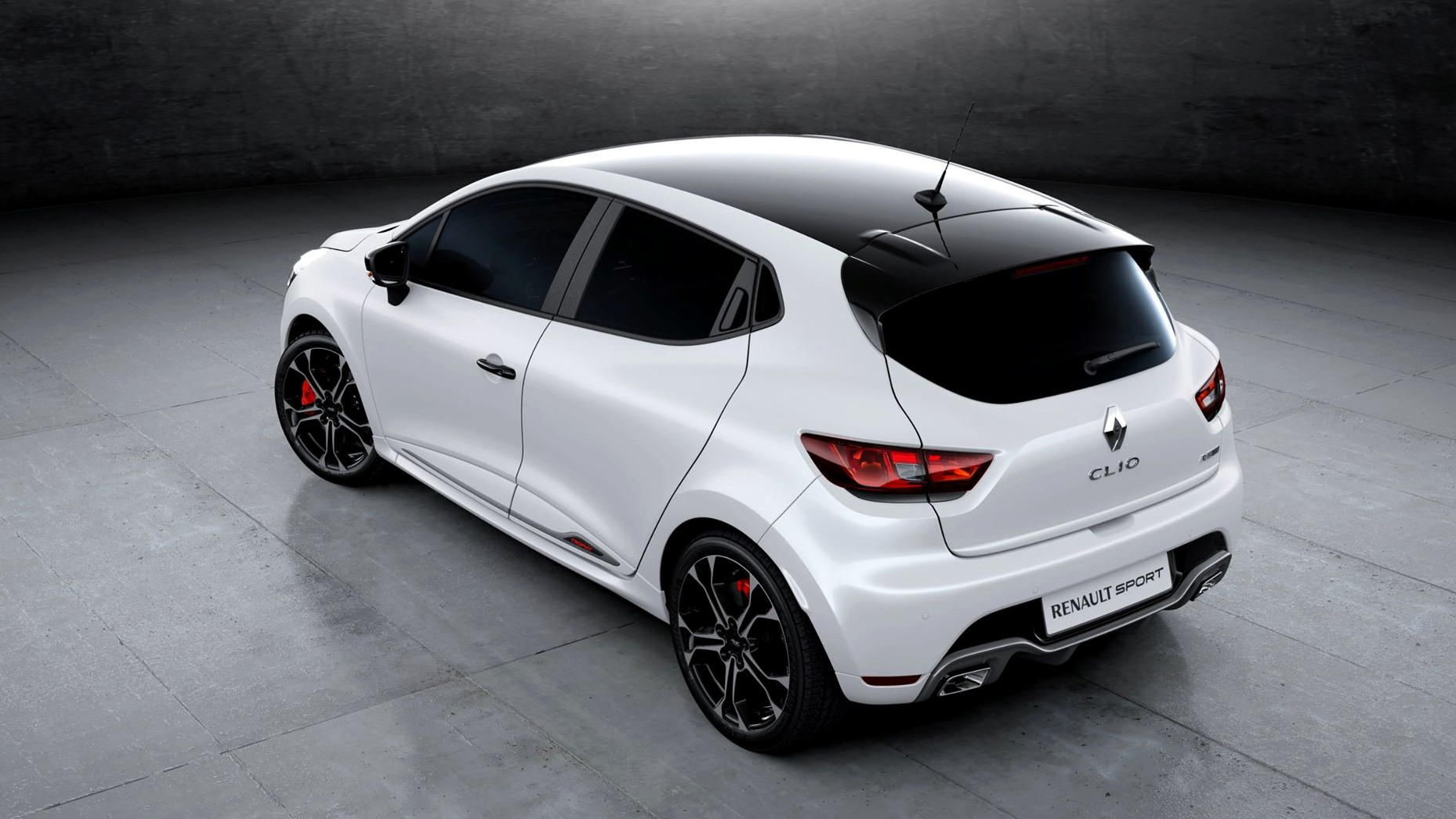 renault clio rs trophy une premi re photo officielle. Black Bedroom Furniture Sets. Home Design Ideas