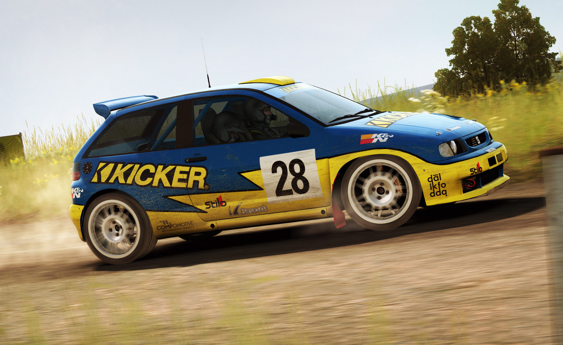 dirt rally dlc tarmac terrors disponible plan te. Black Bedroom Furniture Sets. Home Design Ideas