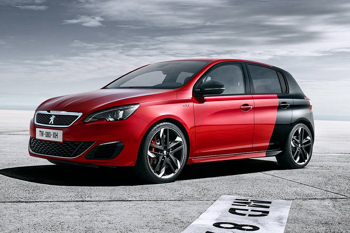 peugeot 308 gti by peugeot sport vid o photos et caract ristiques plan te. Black Bedroom Furniture Sets. Home Design Ideas