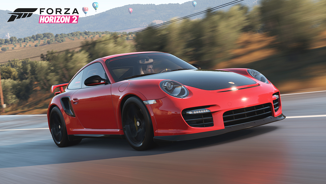 2 porsche en bonus gratuit dans forza horizon 2 plan te. Black Bedroom Furniture Sets. Home Design Ideas