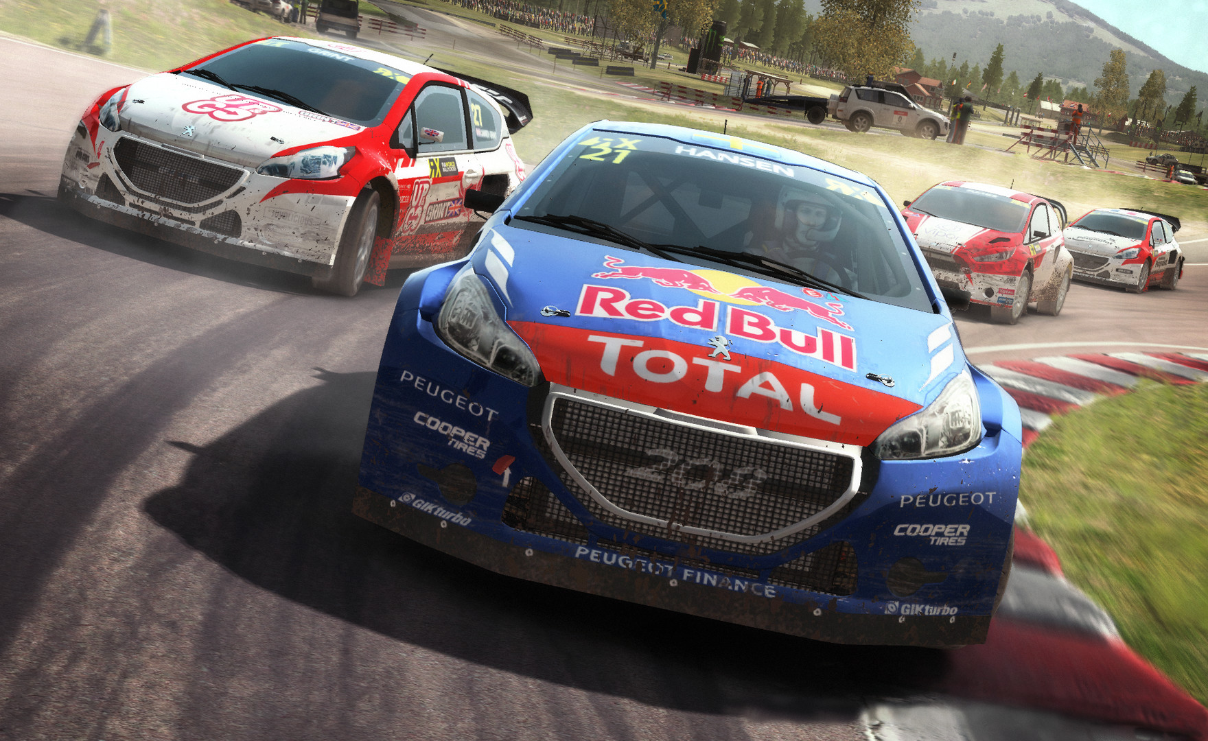 dirt rally le rallycross est disponible plan te. Black Bedroom Furniture Sets. Home Design Ideas