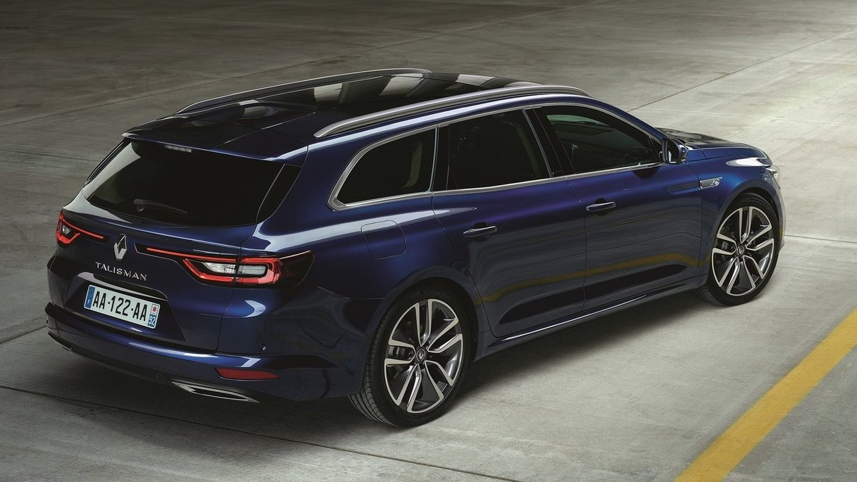 renault talisman estate photos et vid o du break plan te