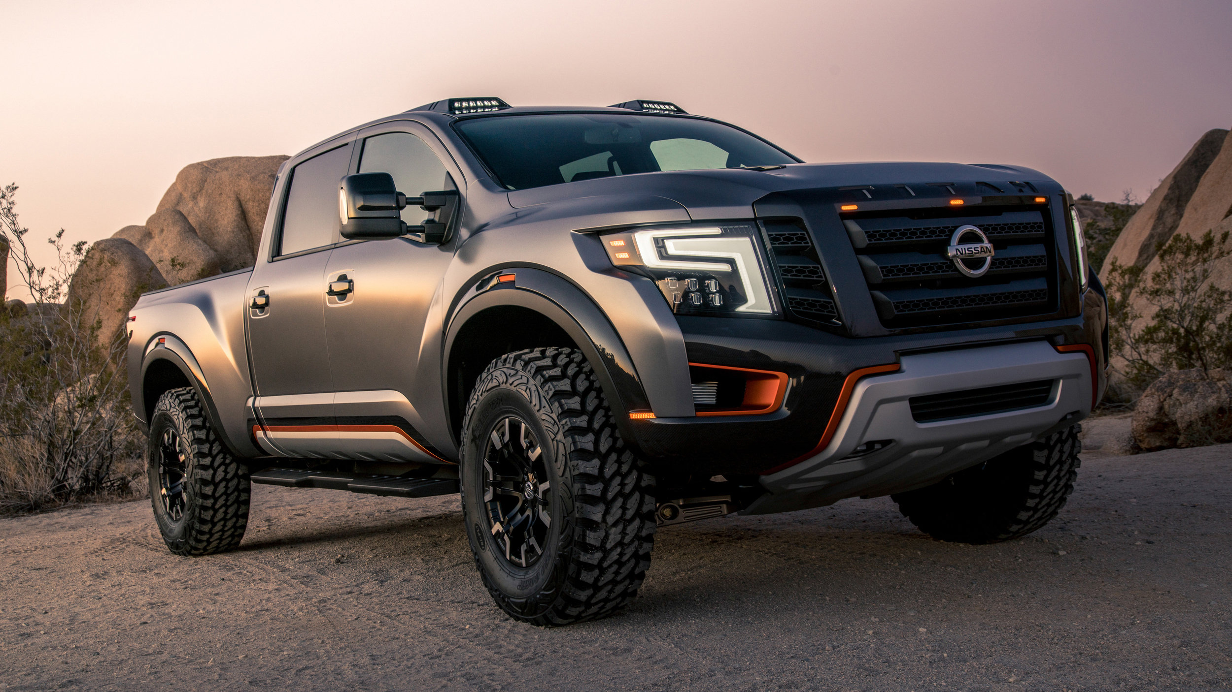 nissan titan warrior concept chasseur de raptor plan te. Black Bedroom Furniture Sets. Home Design Ideas