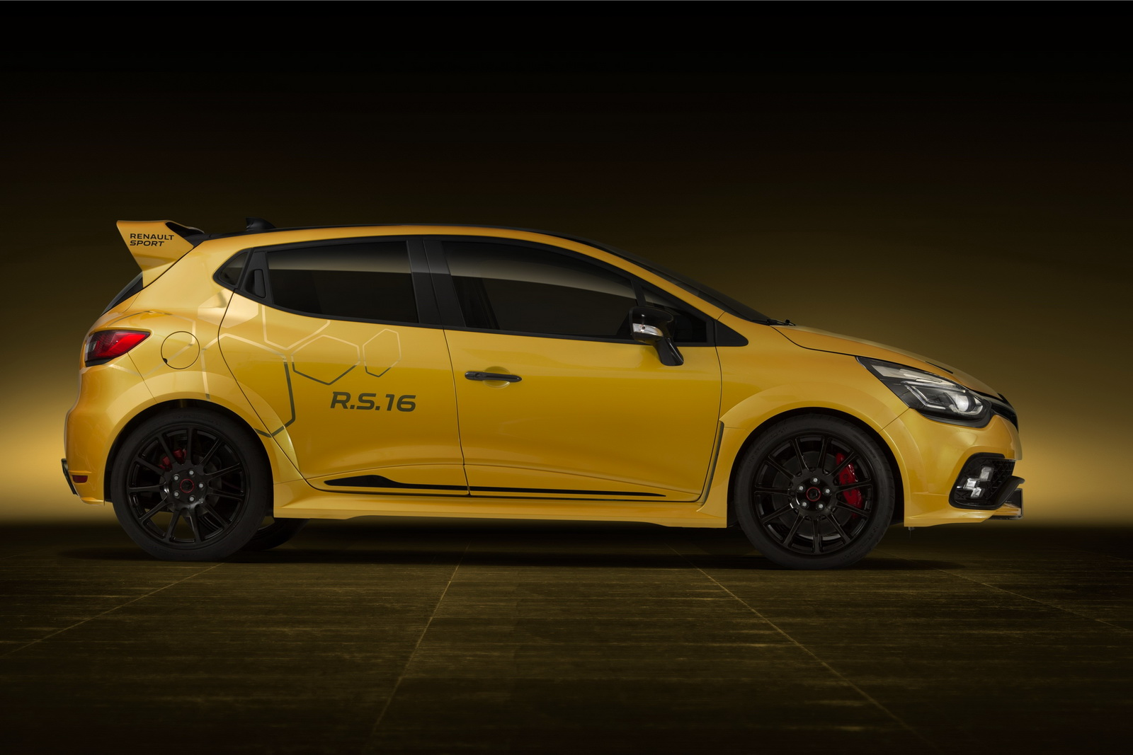 renault clio rs16 concept megane trophy r de poche. Black Bedroom Furniture Sets. Home Design Ideas