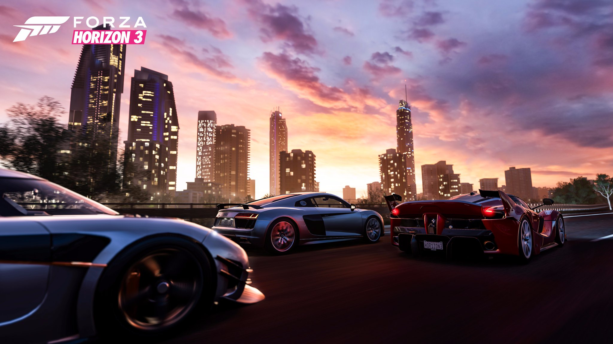 forza horizon 3 arrive du xbox one et windows 10 vid o plan te. Black Bedroom Furniture Sets. Home Design Ideas