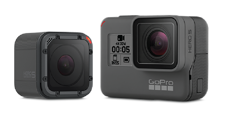 GoPro Hero 5 Black et Hero 5 Session  étanche, contrôle vocal, tactile !