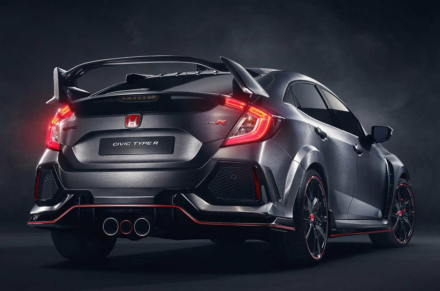 nouvelle honda civic type r concept sportive et nerveuse plan te. Black Bedroom Furniture Sets. Home Design Ideas