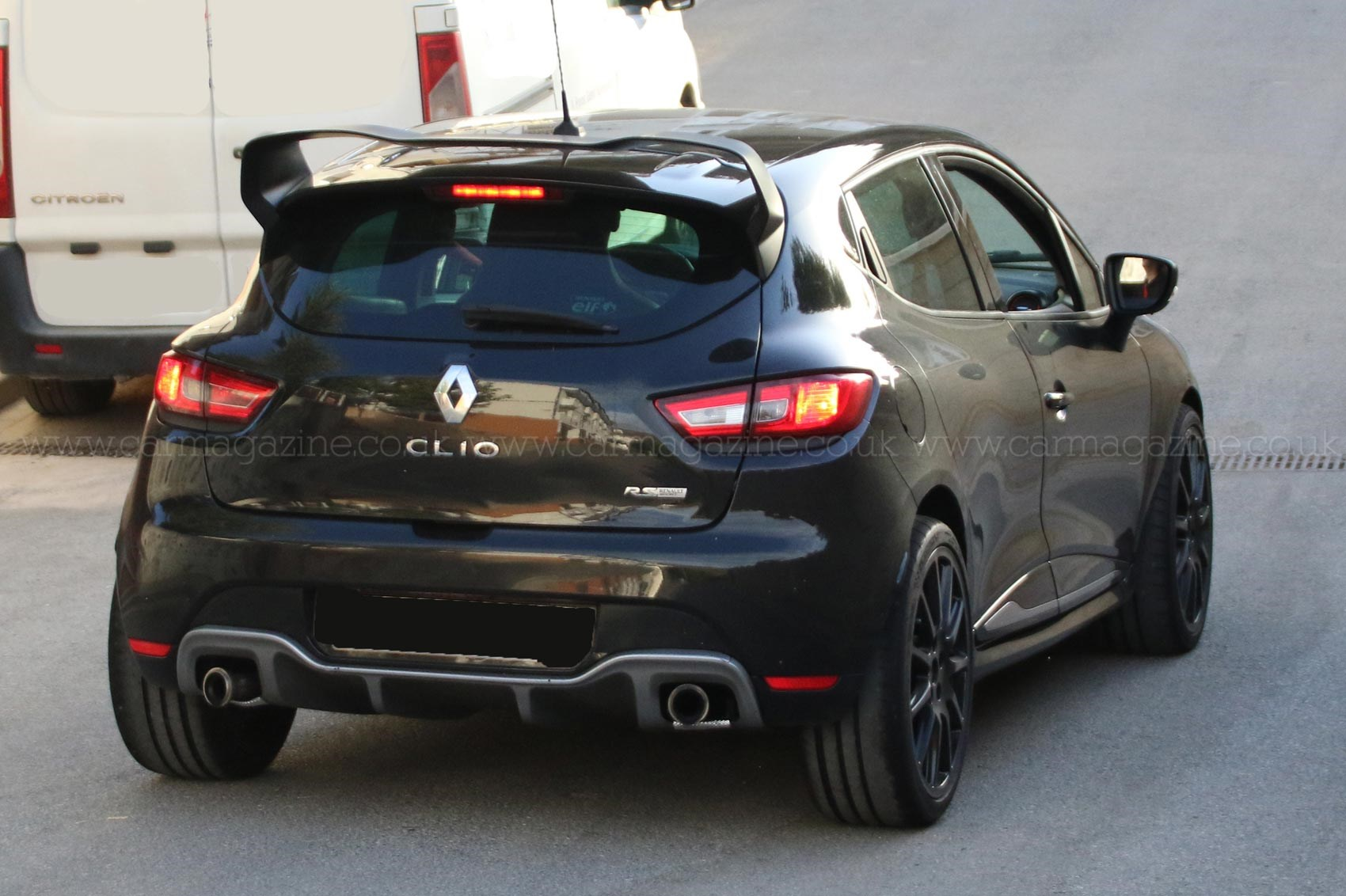 spyshots de la renault clio rs 16 production en vue plan te. Black Bedroom Furniture Sets. Home Design Ideas