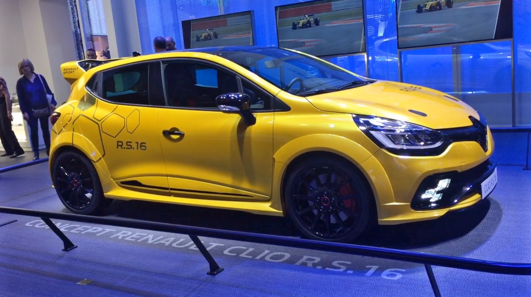 Presentation video Clio RS16 renault sport