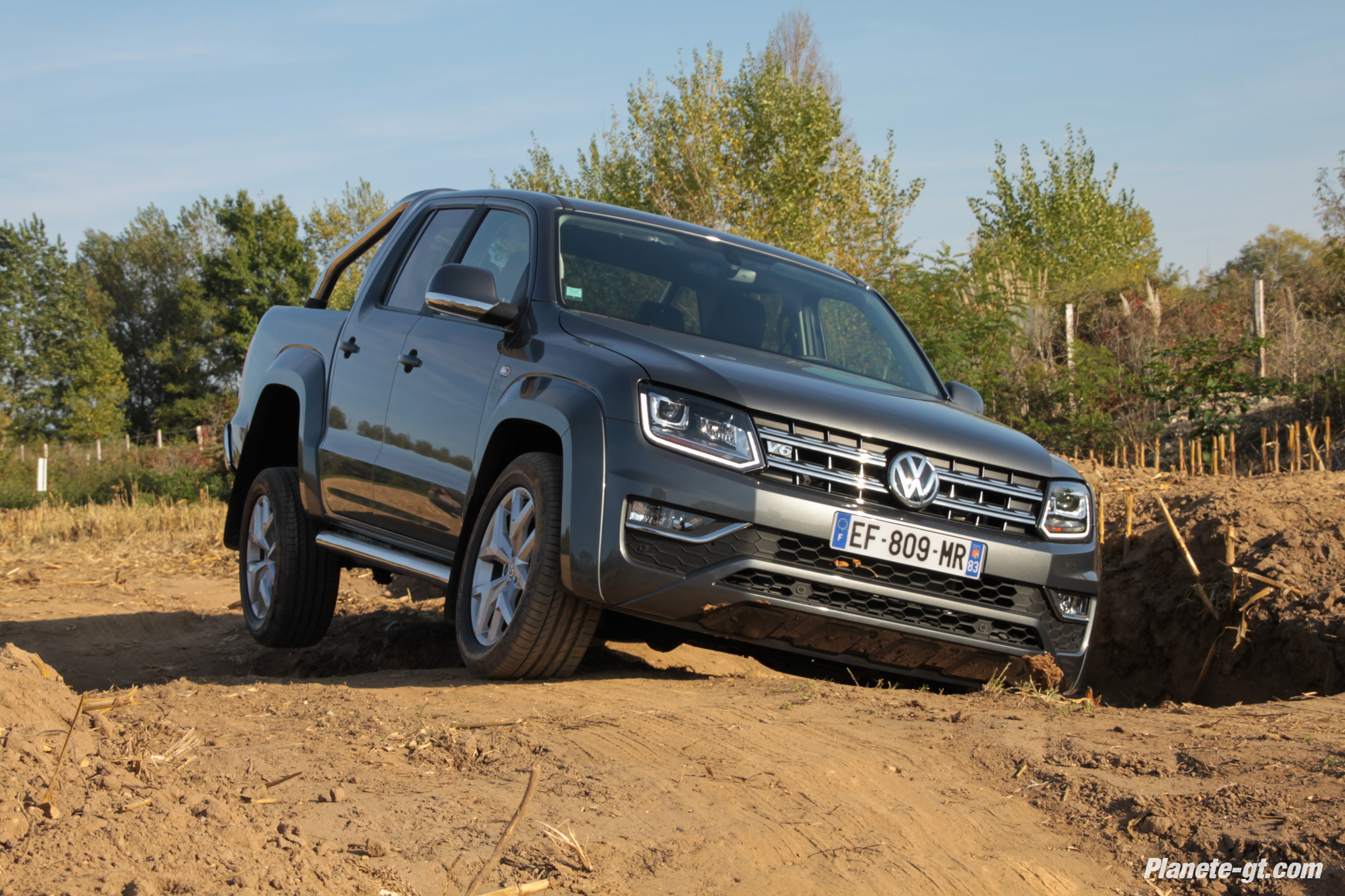 essai vw amarok v6 tdi 224ch plan te. Black Bedroom Furniture Sets. Home Design Ideas