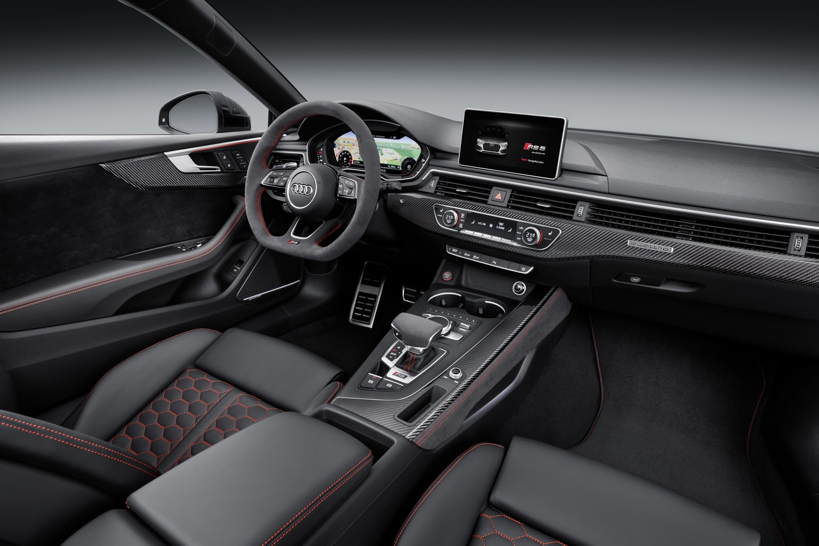 nouvelle audi rs5 adieu le v8 elle passe au v6. Black Bedroom Furniture Sets. Home Design Ideas