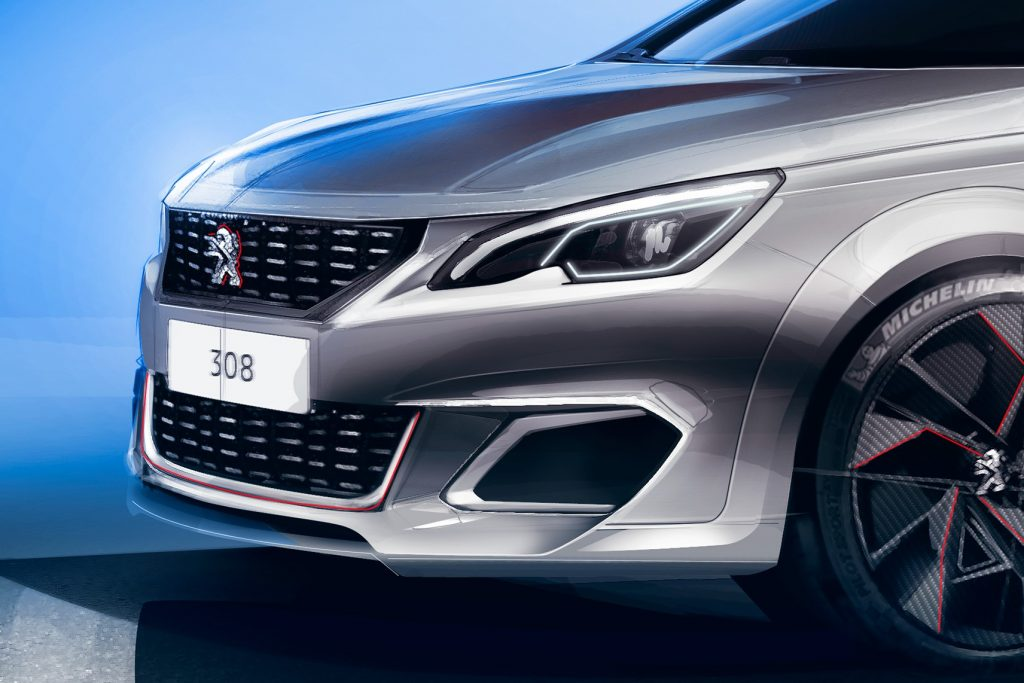 peugeot 308 gti le facelift qu on aurait voulu voir plan te. Black Bedroom Furniture Sets. Home Design Ideas