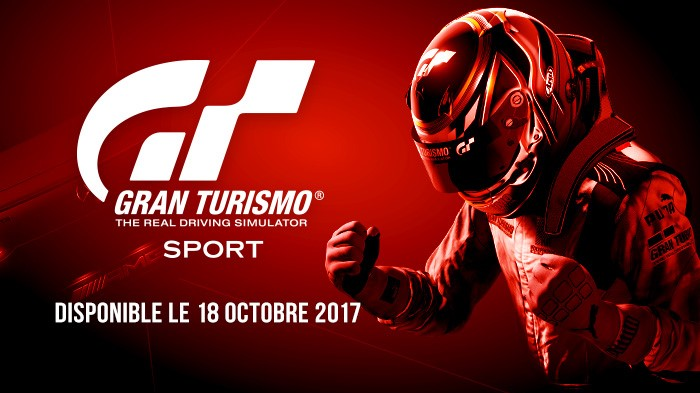 gran turismo sport annonce enfin sa date de sortie plan te. Black Bedroom Furniture Sets. Home Design Ideas